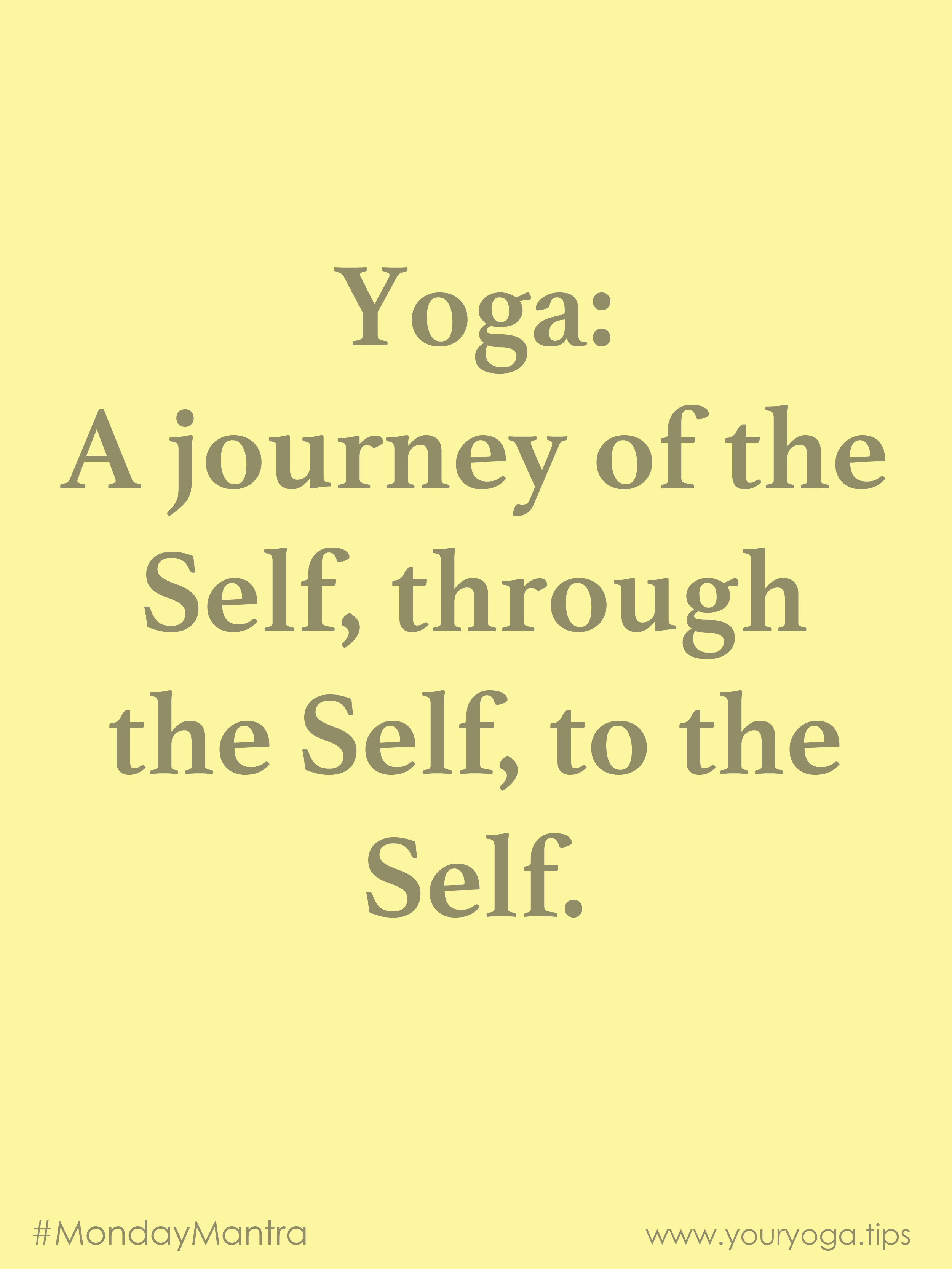 a yoga journey
